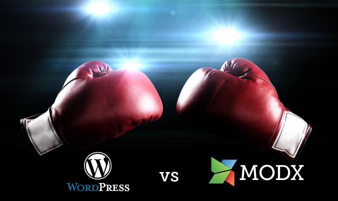 WordPress vs. MODX: A Head-to-Head Comparison